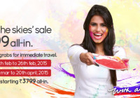 spicejet holi offer flight booking rs 1699 and 3799 inr