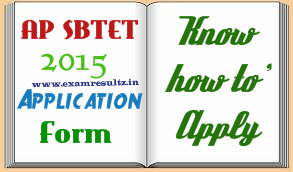 AP SBTET Polytechnic Exam 2015 admission form important dates