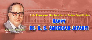 Ambedkar jayanti fb cover architect indian constitution