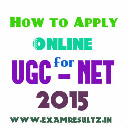 How to apply online for UGC NET June 2015 Exam