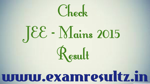 JEE mains 2015 result out at www.cbseresults.nic.in