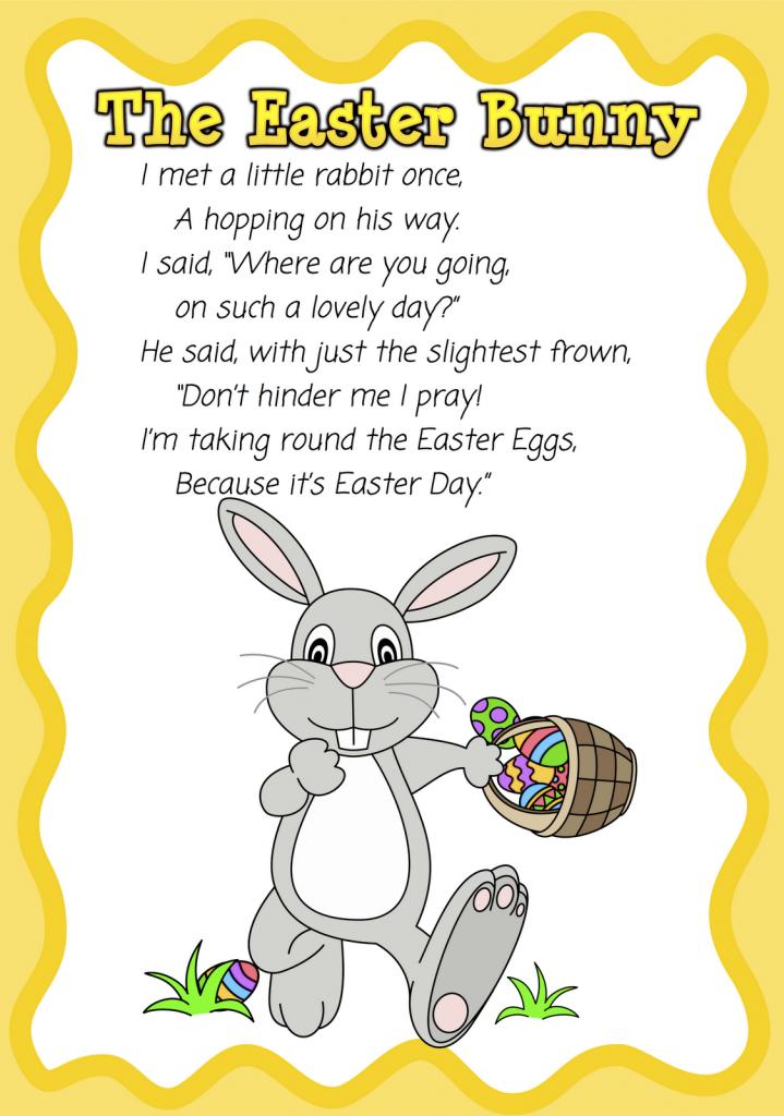 Short christian Easter poems for children : Easter sunday