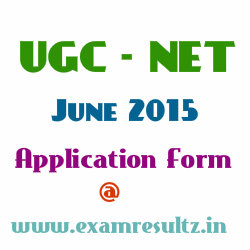 UGC NET 2015 online application