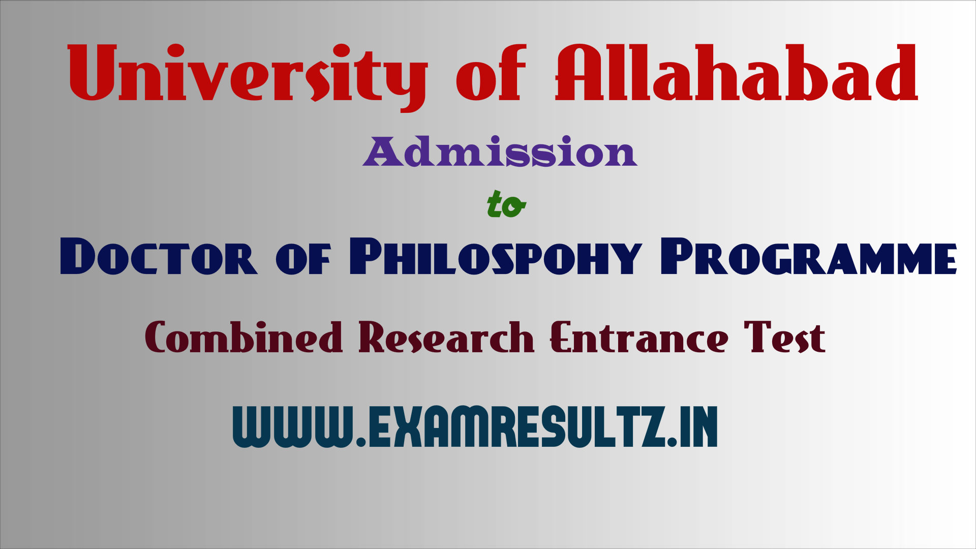 allahabad university cret 2015 online application form