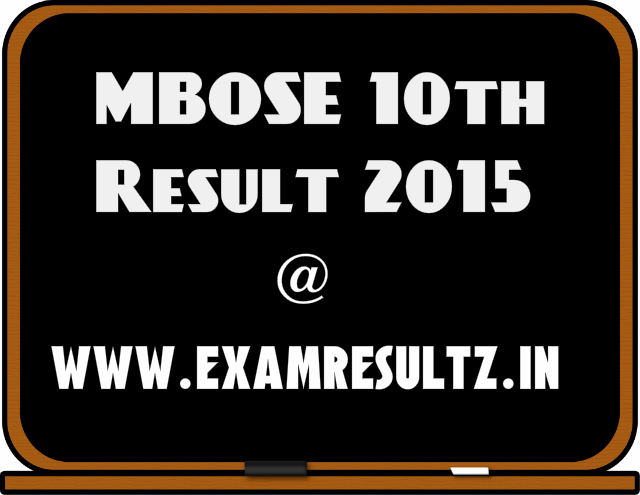 MBOSE 10th result 2015 Meghalaya board result at www.megresults.nic.in
