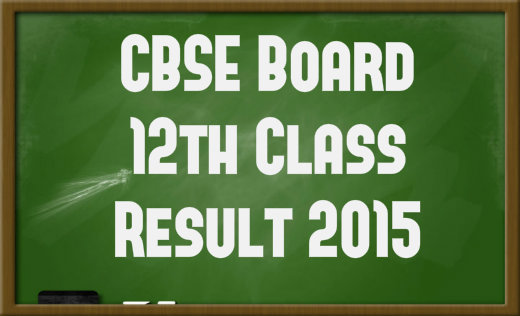 cbse class 12th result 2015 cbse class XII results