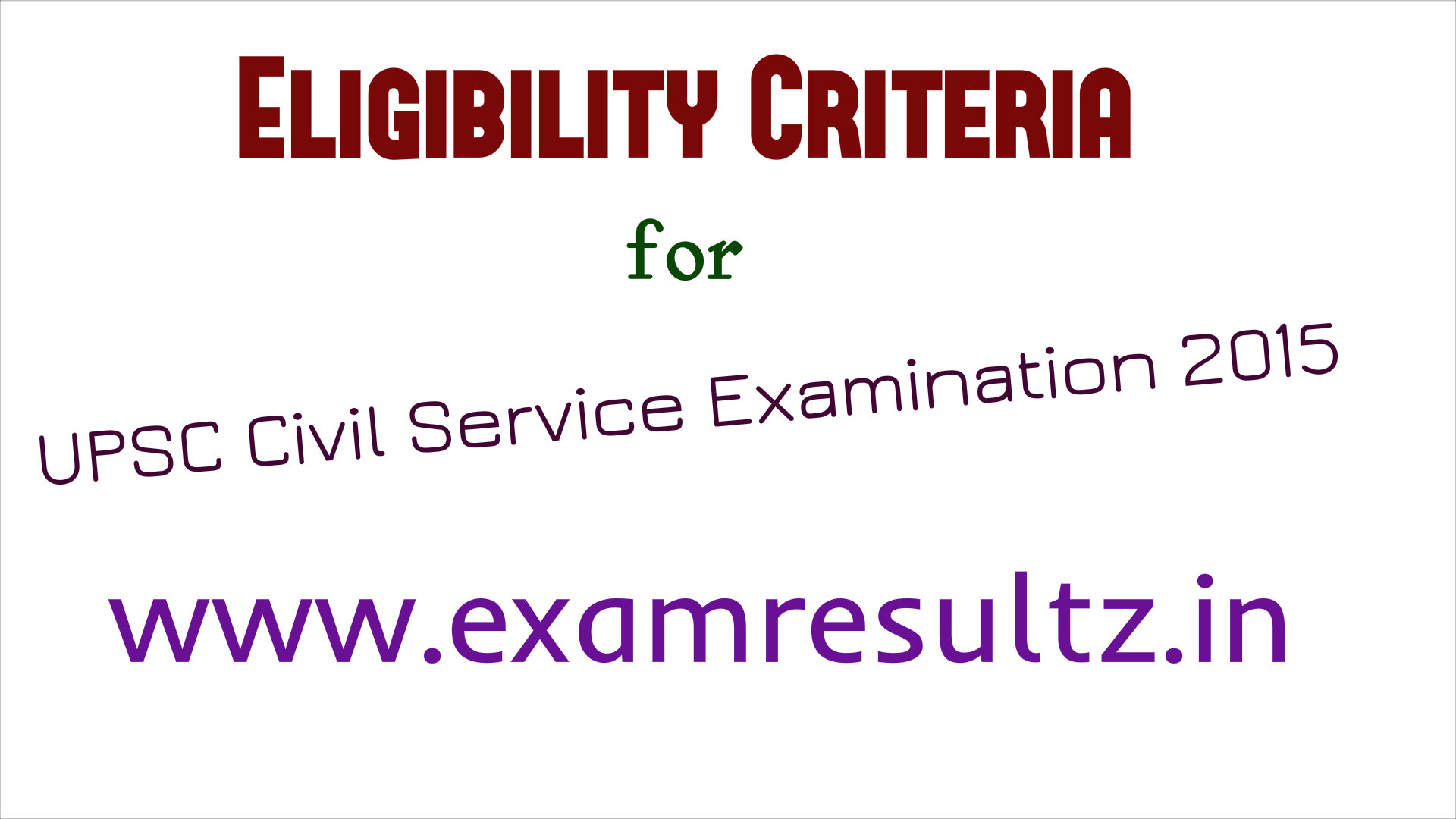 eligibility criteria upsc civil service ias exam admit card download