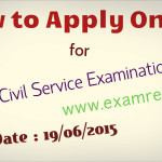 how to apply online for upsc preliminary civil service examination 2015