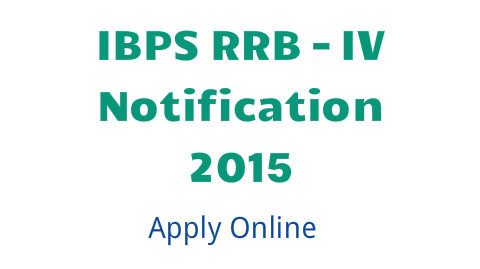 IBPS RRB 2015 application form