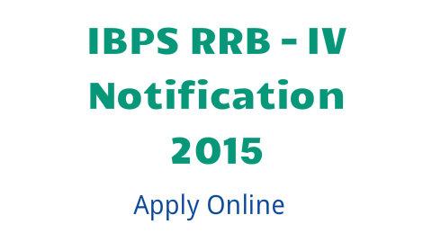 IBPS RRB 2015 application form