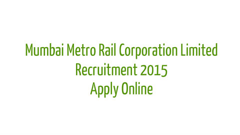 Mumbai Metro Rail Corporation Limited jobs
