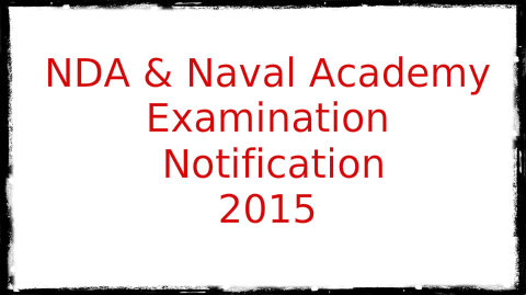Naval Academy Examination-II 2015 Notification
