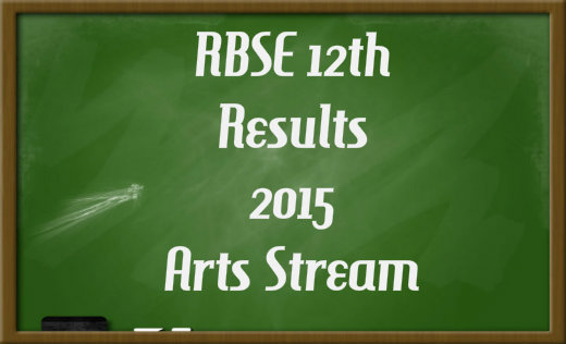 Rajasthan Board of Secondary Education Class 12(Arts) Results Declared on 1st June 2015