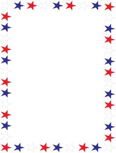 4th july clipart border pictures for free
