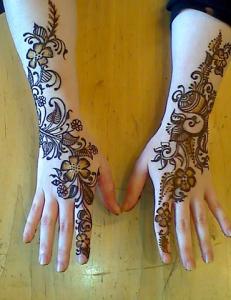 Chand Raat best mehndi design pics images photos