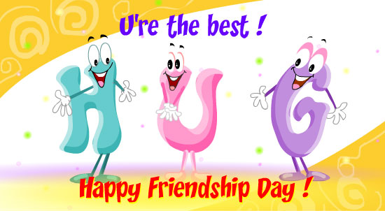 happy friendship day greeting cards hd free download