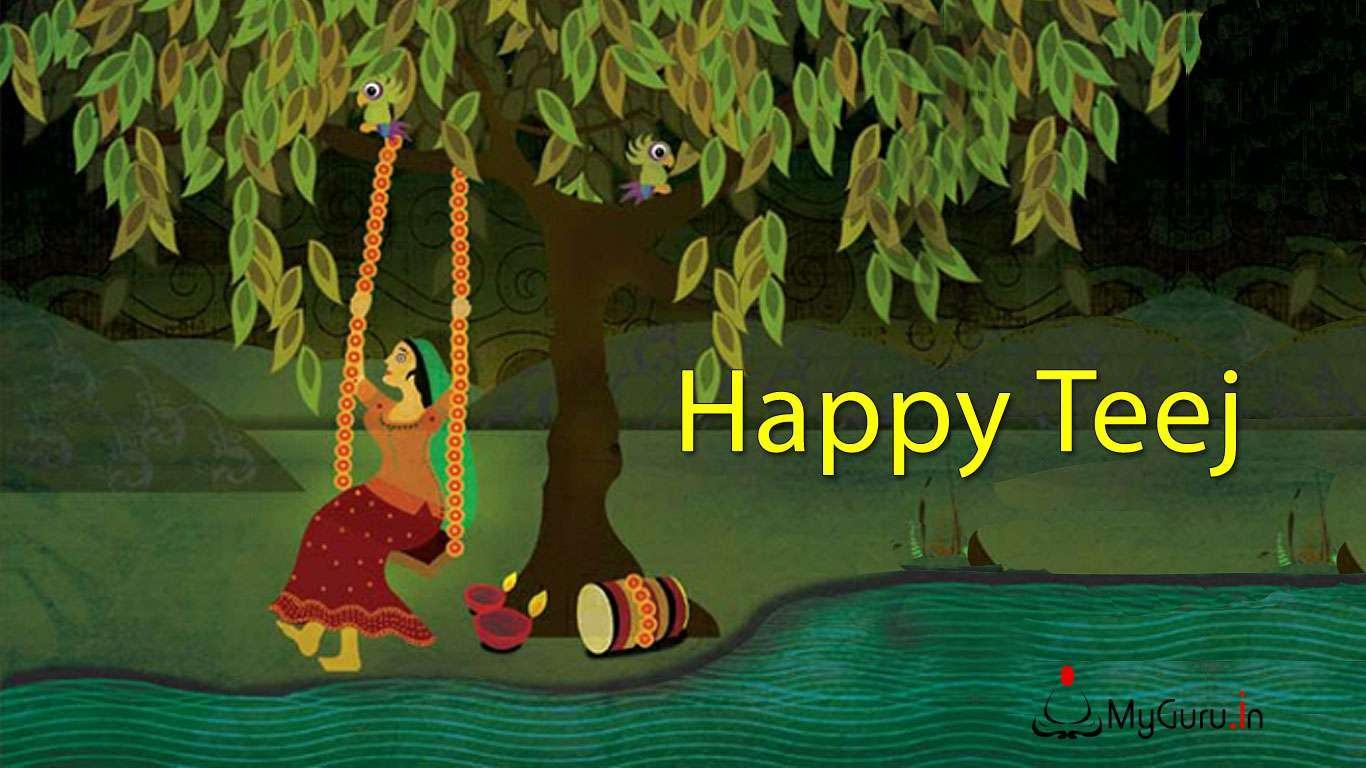 Best Shravan Hariyali teej Images for free download