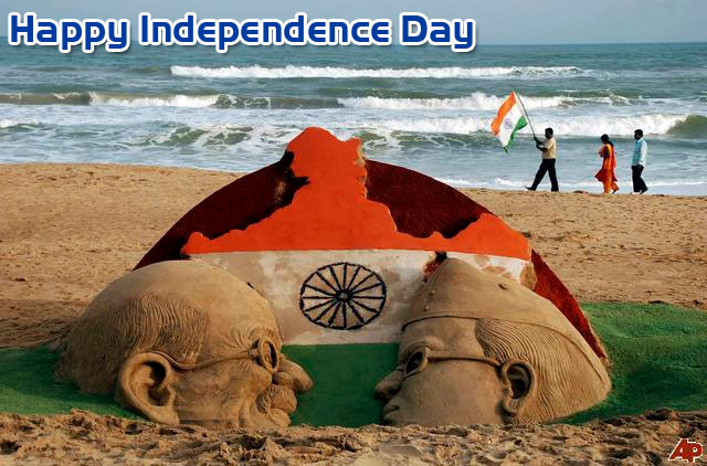 independence day wishes slogans whatsapp sms facebook status