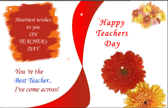 happy teachers day gretting card quotes for guru 2015