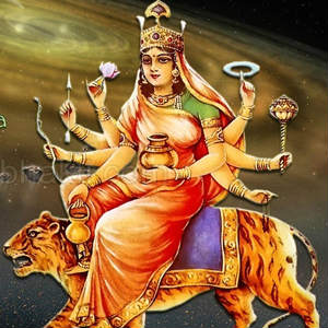 3rd navratra Maa Chandraghanta pictures