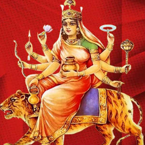 4th navratra Maa Kushmanda pictures