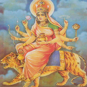 Chandraghanta goddess whatsapp images wallpaper