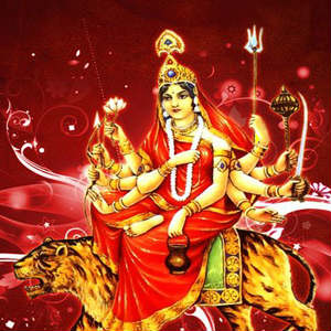 Chandraghanta maa beautiful images for facebook
