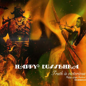 Dussehra images for facebook profile pics