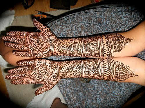 Gaurgous rajastani mehndi design front hand for teej celebration HD pictures