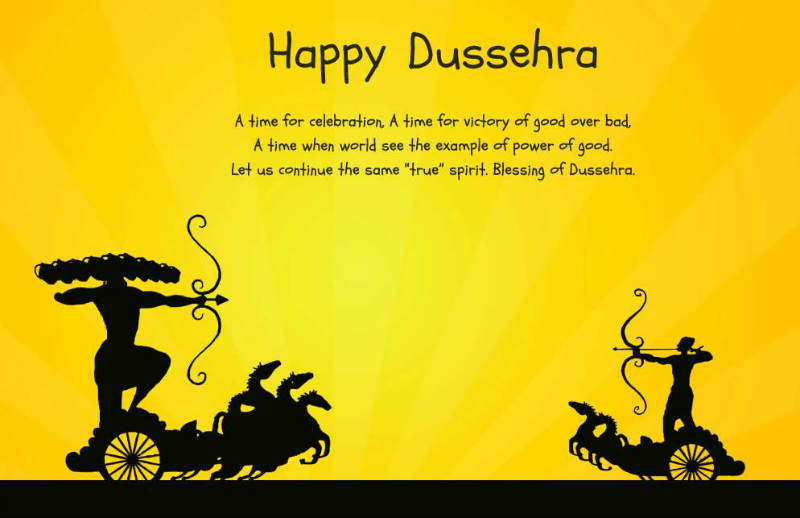 Happy Dussehra 2015 Greetings Wishes Sayings