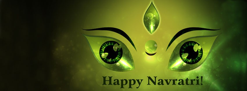 Happy navratri 2015 fb cover photo for free download