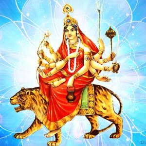 Happy navratri 3rd day pictures images of Chandraghanta