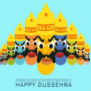 Latest Dussehra whatsapp dp images free download