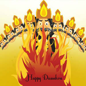 Latest Happy Dussehra images for whatsapp dp