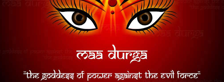 Special navratri fb cover wallpaper for free