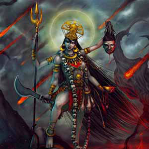 satva navratri Kalratri mata profile pics images hd