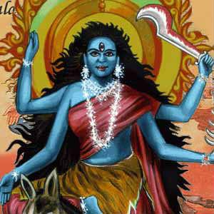 Mata Kalratri 7th navratri images hd free download