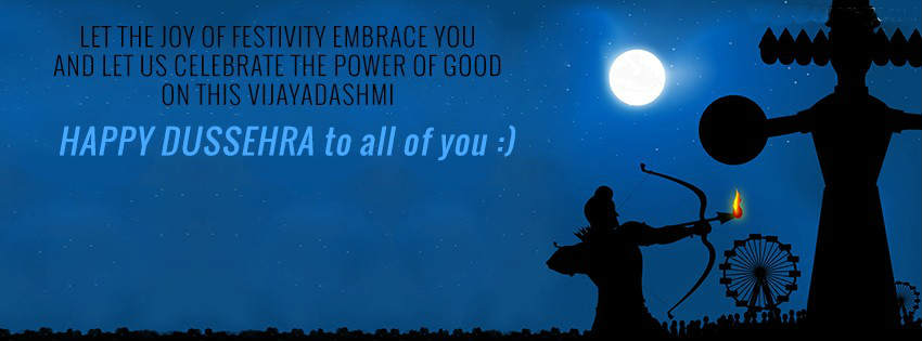 dussehra facebook covers