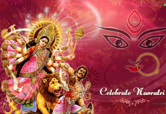 goddess durga navratri hd wallpaper free download