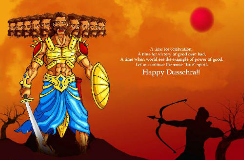 happy dussehra images and wallpaper