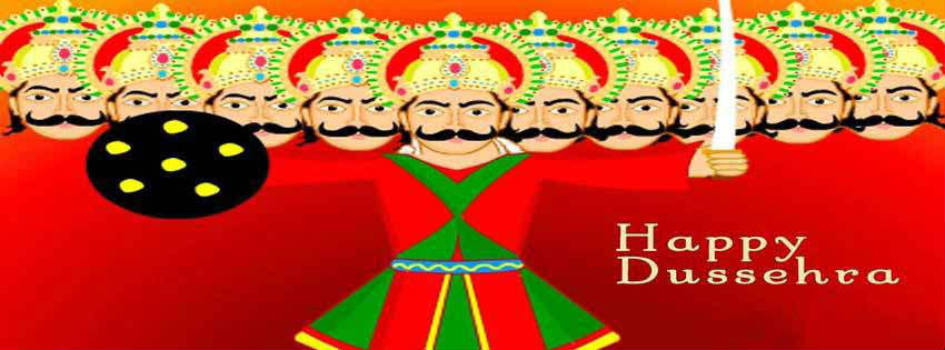 happy dussehra fb cover pics