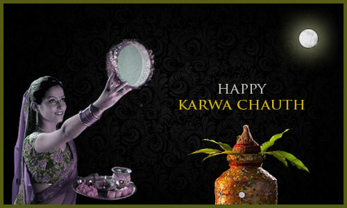 happy karva chauth wallpaper on moon sighting for gf