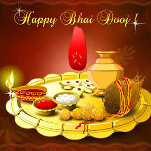Bhai Dooj Thali images pics for whatsapp dp profile