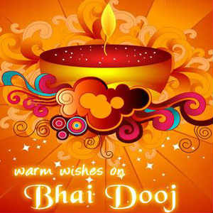 Happy Bhai Dooj whatsapp profile beautiful wallpaper full hd