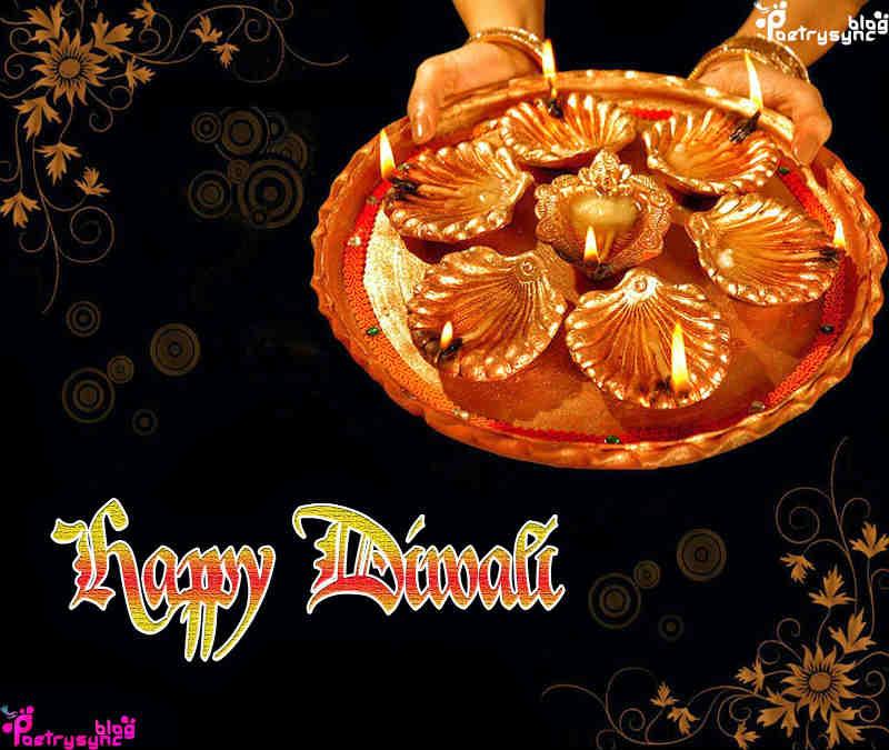 Happy Diwali 2016 Diya decoration hd wallpaper free