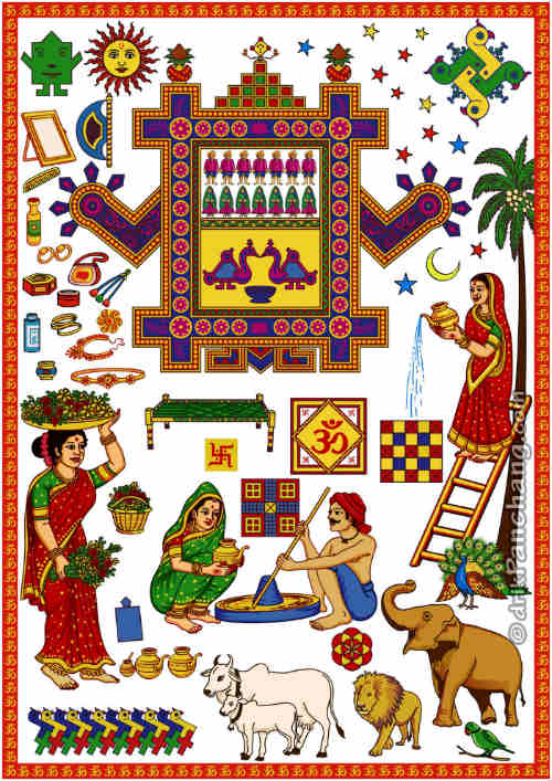 ahoi ashtami puja calendar hd wallpaper free download
