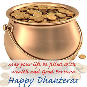 Happy Dhanteras wahtsapp dp photo for free download