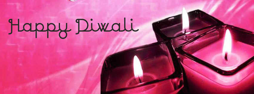 happy diwali Clay Diya fb cover free download