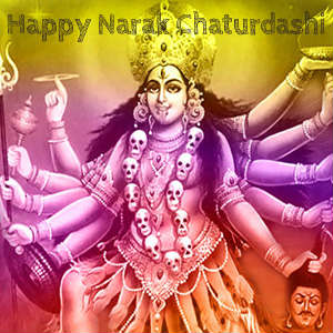 happy narak chaturthi devi kali wallpaper for whatsapp dp