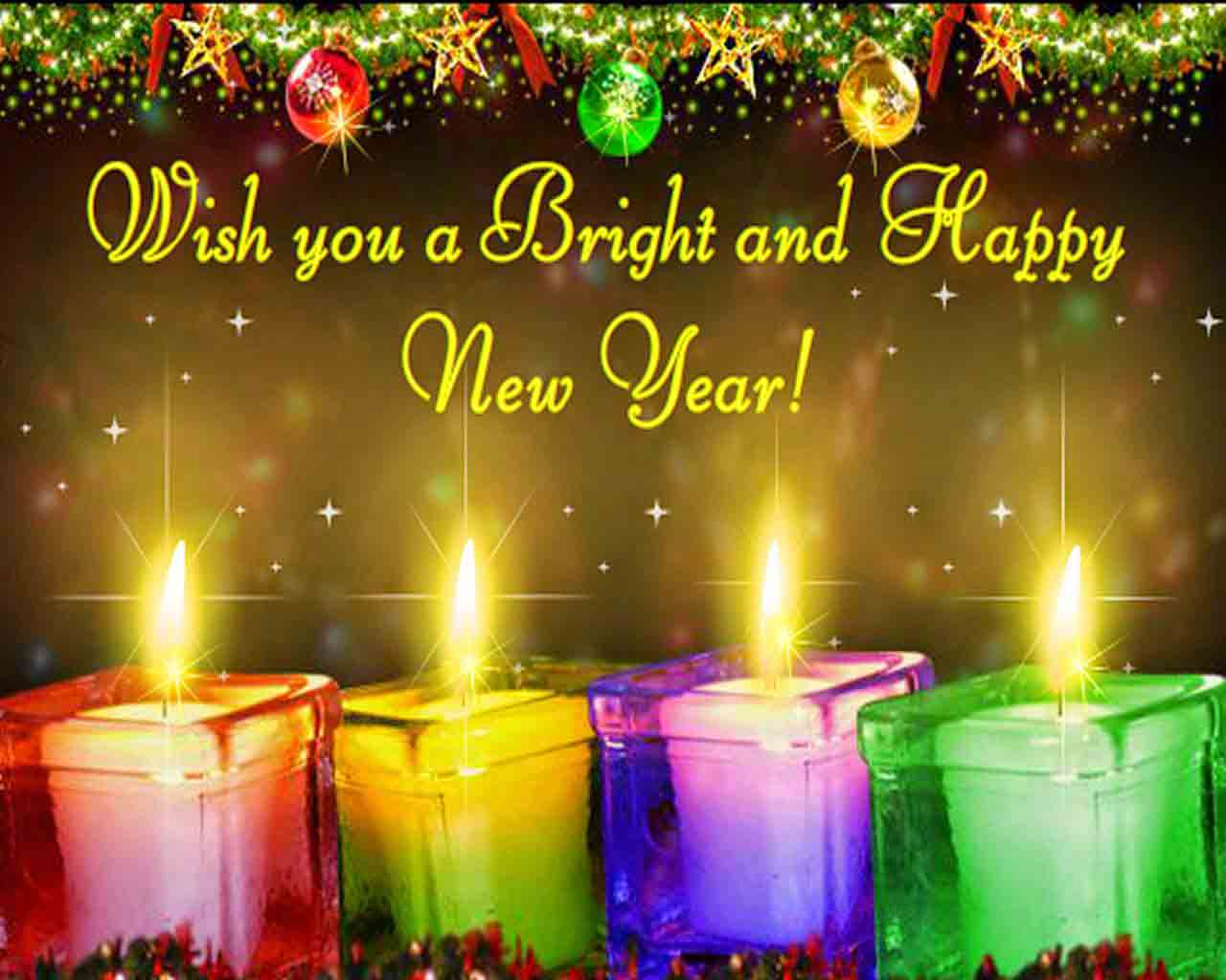 2016 new year wishing hd wallpaper greeting card for friends
